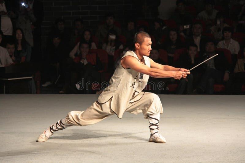 Chiny Shaolin, Kwiecień, - 11, 2012 Michaelita Shaolin monaster, Chiny obrazy stock