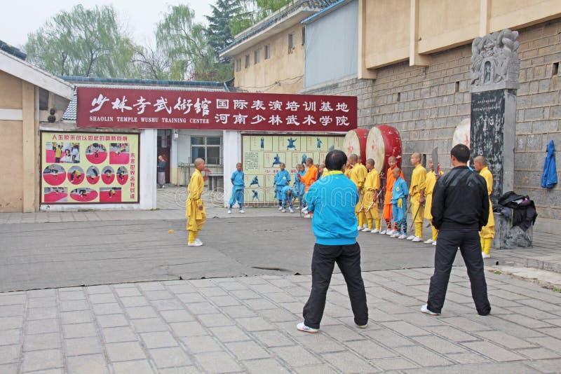 Chiny Shaolin, Kwiecień, - 11, 2012 Michaelita Shaolin monaster, Chiny fotografia royalty free