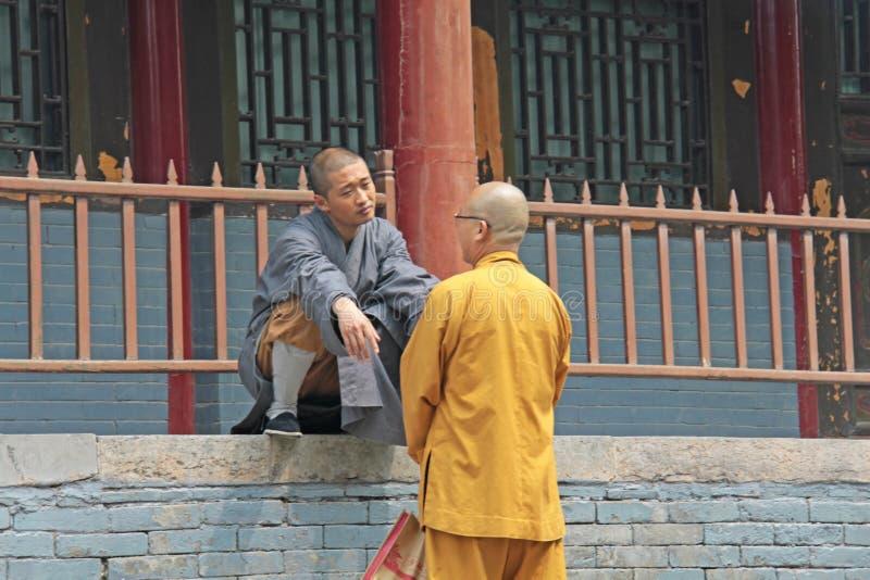 Chiny Shaolin, Kwiecień, - 11, 2012 Michaelita Shaolin monaster, obraz stock