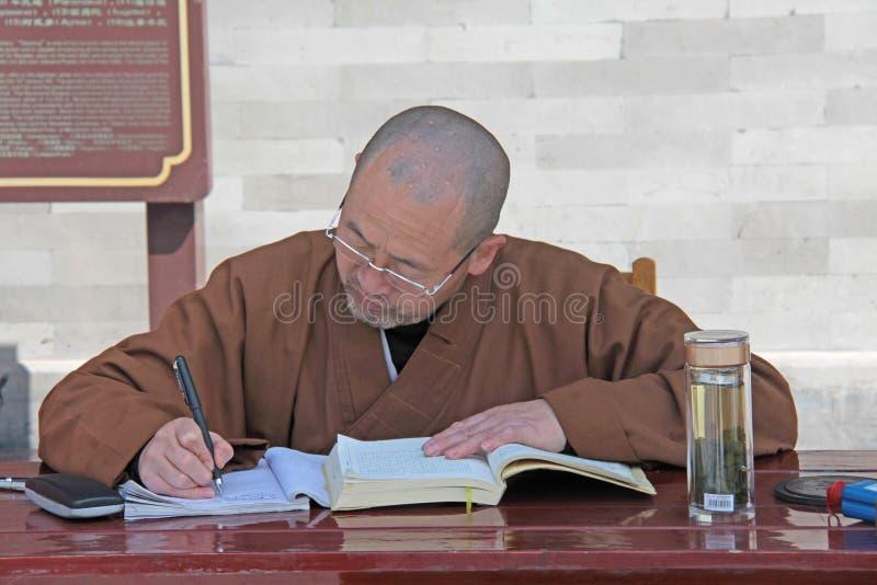 Chiny Shaolin, Kwiecień, - 11, 2012 Michaelita Shaolin monaster, obrazy stock
