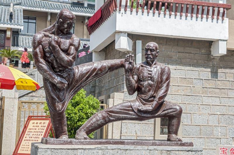 Chiny Shaolin monaster zdjęcia royalty free