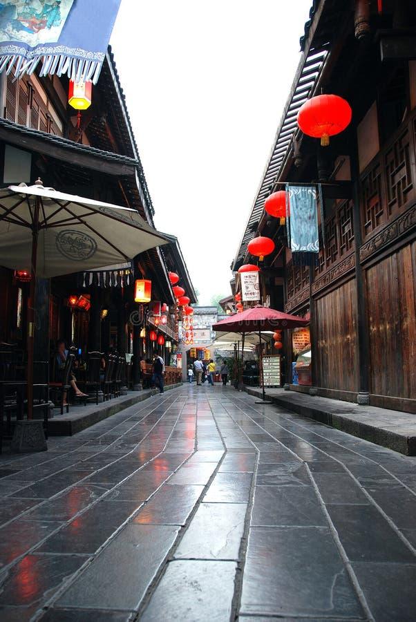 chiny street zdjęcia stock