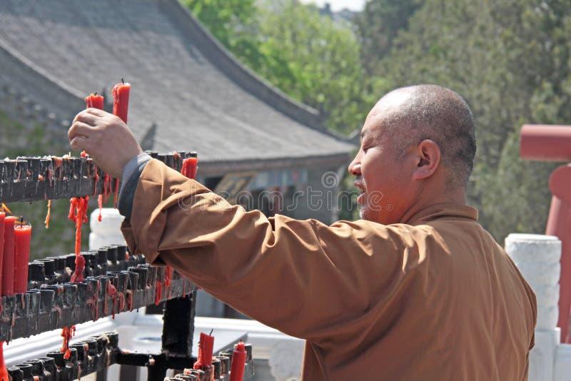 Chiny Suzhou, Kwiecień, - 13, 2012 Michaelita Shaolin monaster, Chiny obrazy royalty free
