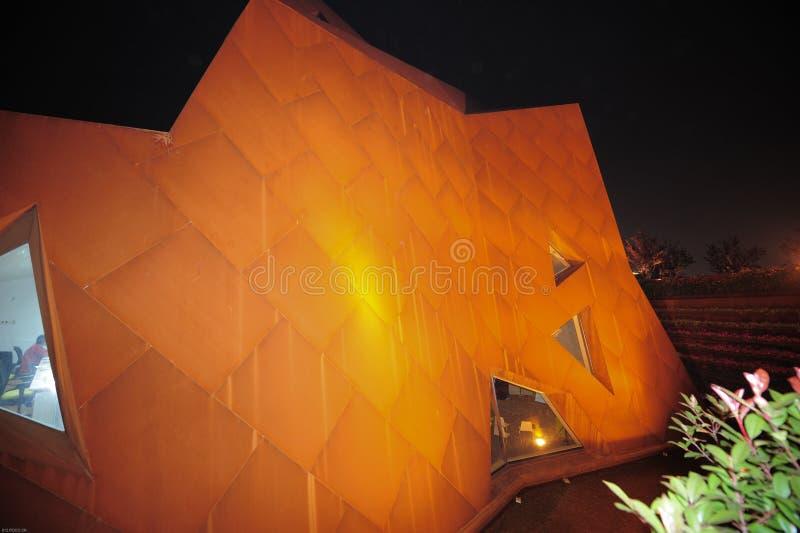 Chiny Szanghaj expo 2010 Światowy muzeum narodowe Luxemburg obraz stock