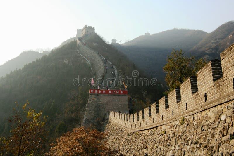 chiny wielki mur. fotografia stock