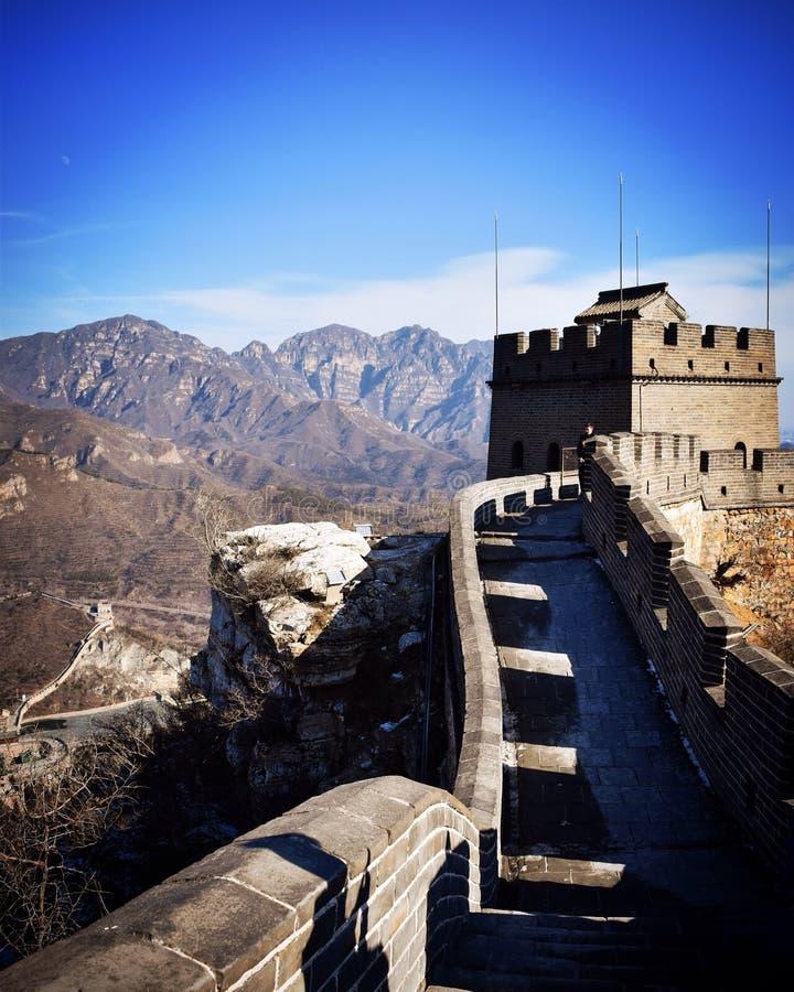 chiny wielki mur obrazy royalty free