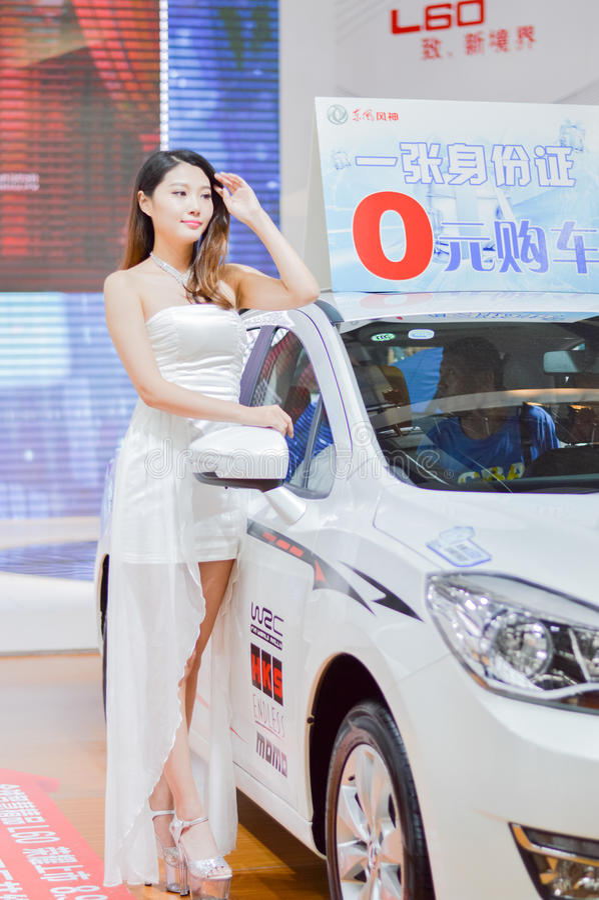 Chiny XI. ` auto przedstawienia model obraz stock