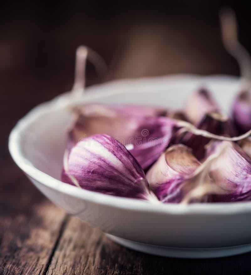 Chiodi di garofano di aglio fotografie stock libere da diritti
