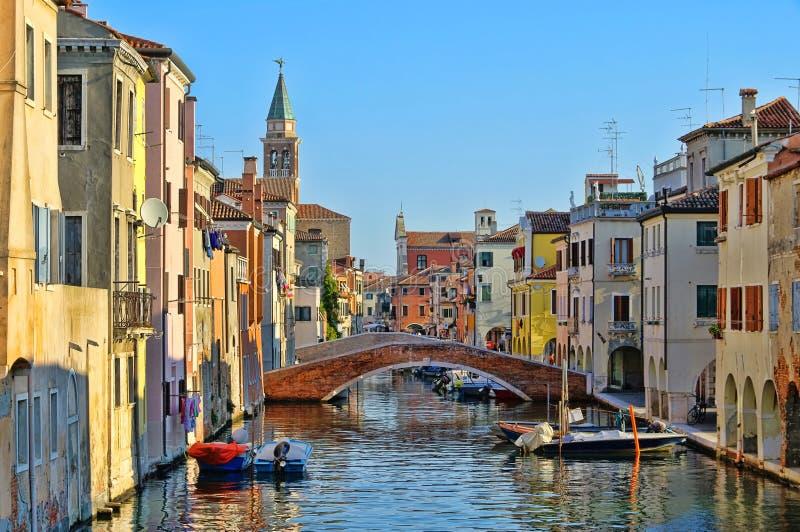 Chioggia stock photo. Image of landmark, venetian, blue ...