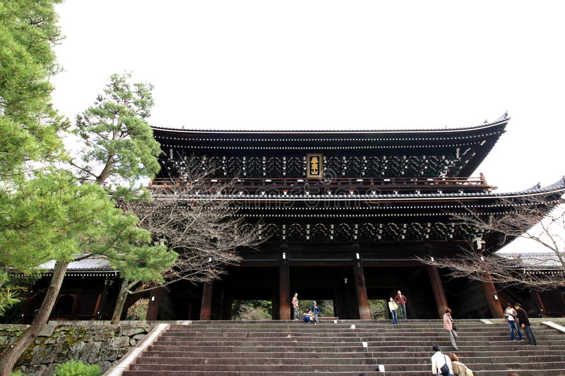 Chion-in Tempel stock afbeelding