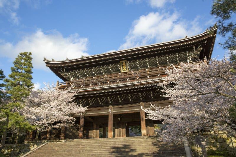 Chion-in Tempel stock afbeeldingen