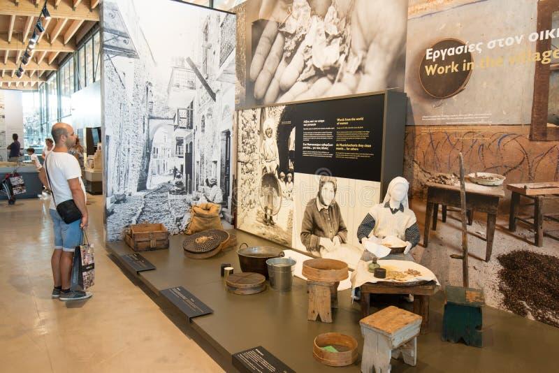 Chios mastiskt museum royaltyfria foton
