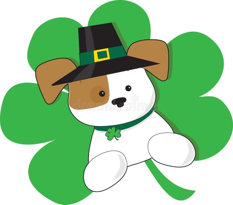 Chiot irlandais illustration de vecteur