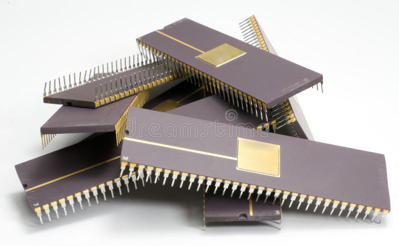 Chip royalty free stock photo