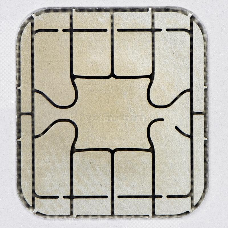 Chip Card imagen de archivo libre de regalías