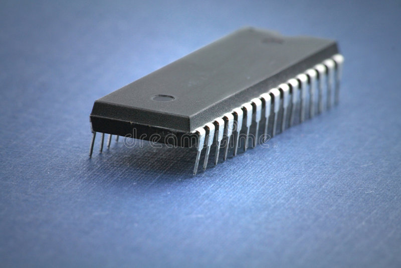 Chip de computador foto de stock royalty free