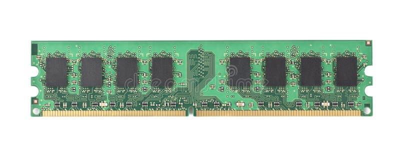 Chip de memória do computador foto de stock