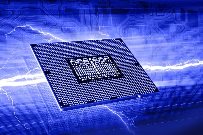 Chip de ordenador ilustración del vector