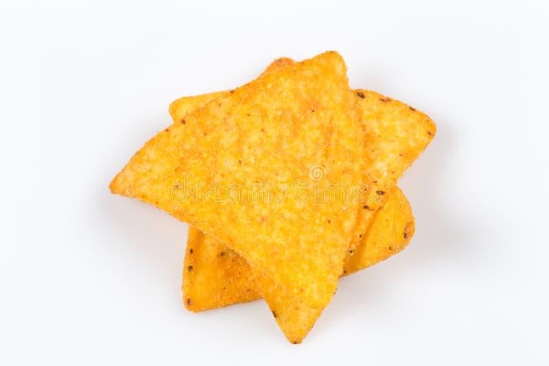 Chip dei nacho del cereale fotografia stock