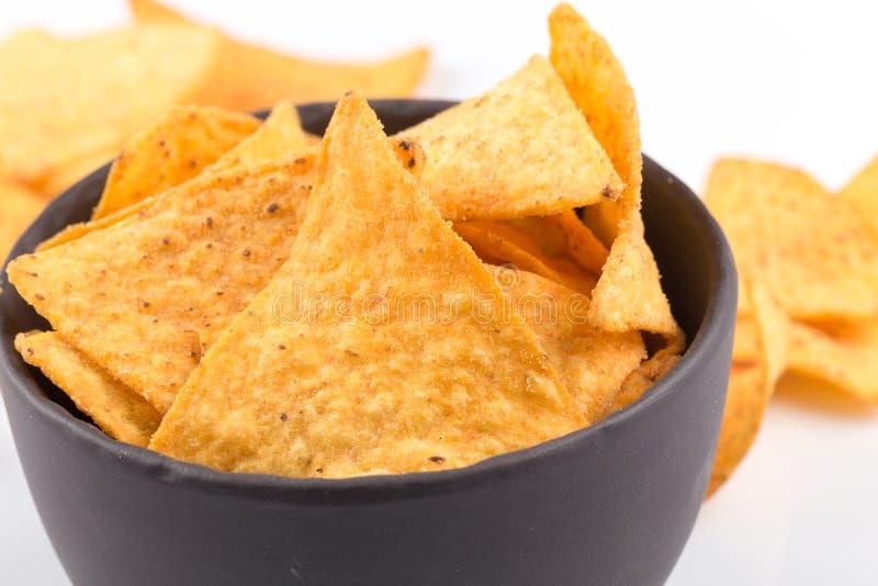 Chip dei nacho del cereale fotografia stock libera da diritti