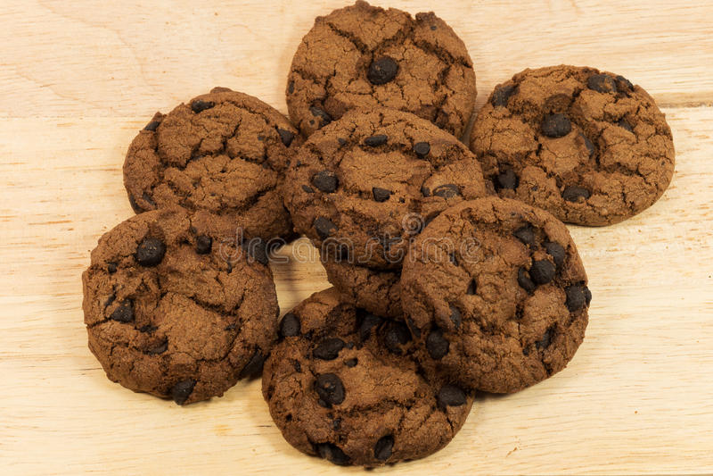 Chip del biscotto immagini stock