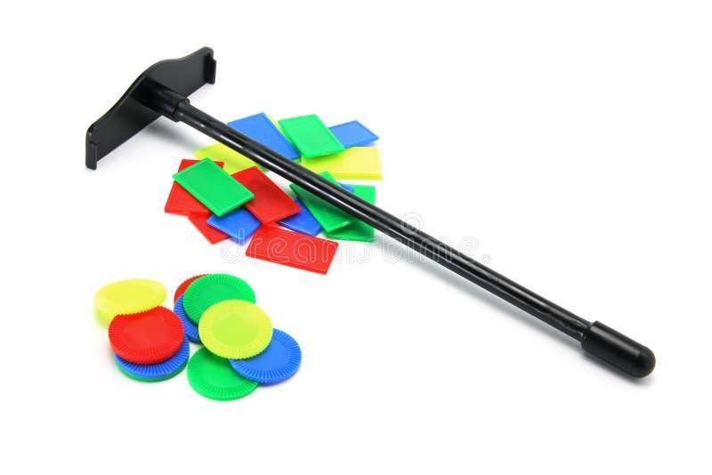 Chip di gioco del giocattolo immagine stock libera da diritti