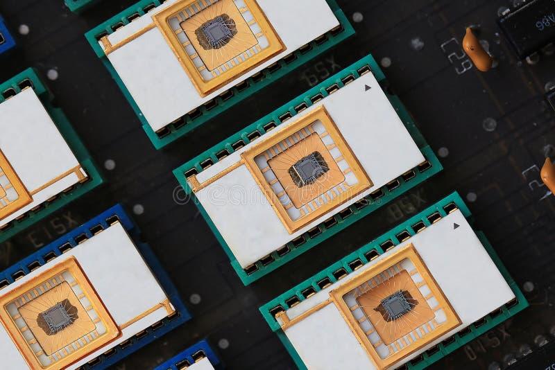 Chip di memoria fotografia stock libera da diritti