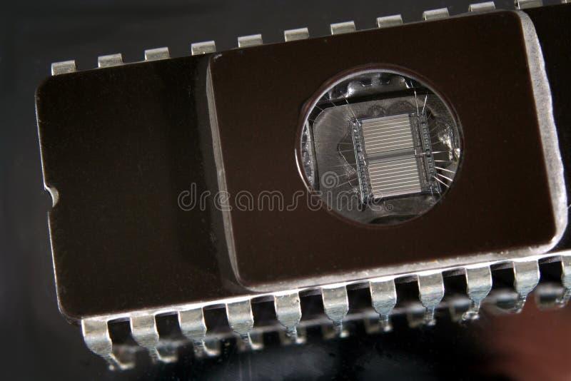 chip eprom mikro - obraz royalty free