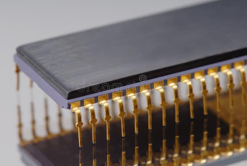 Chip macro stock image
