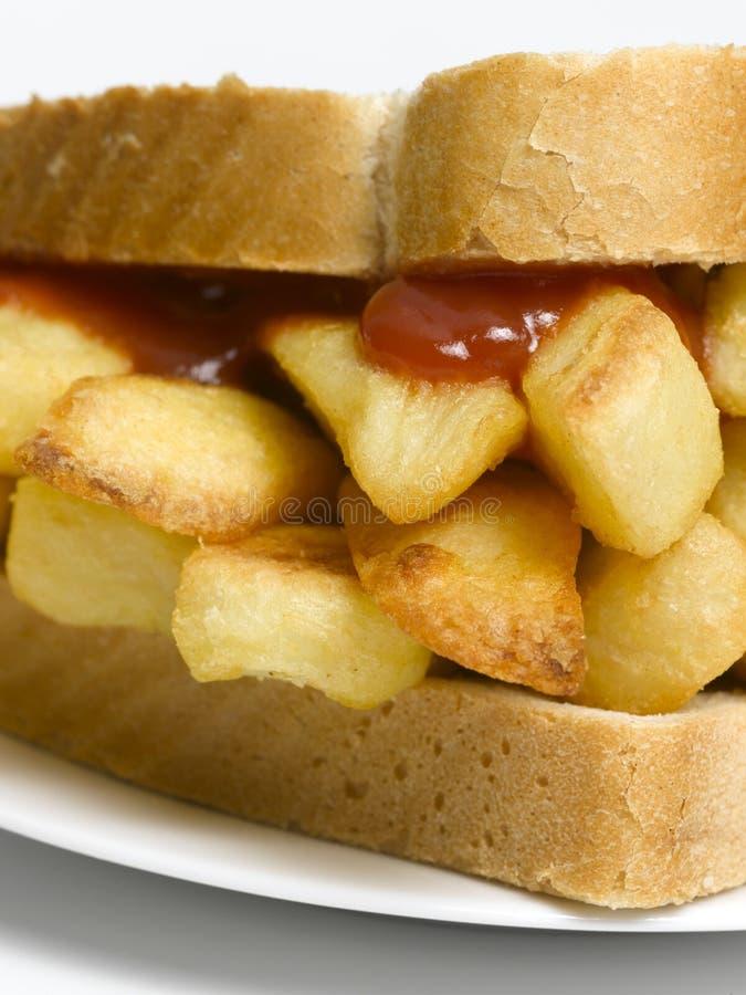 Chip Sandwich fotografia de stock