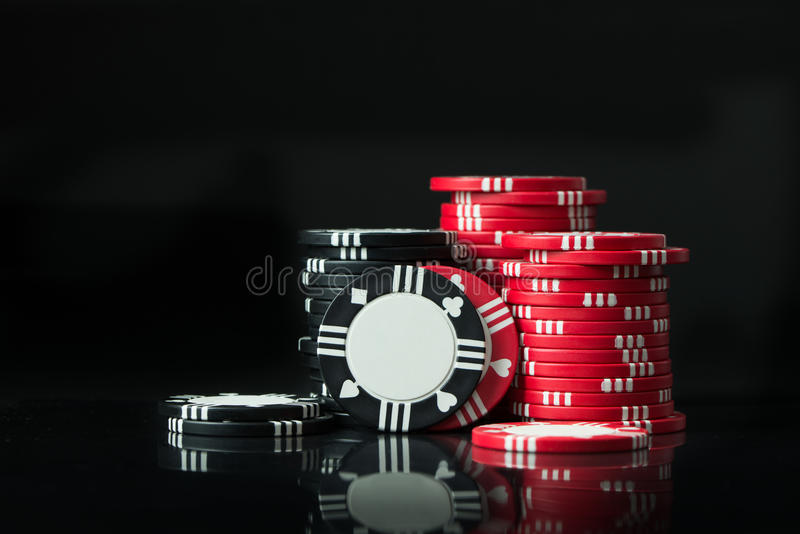 chip w pokera zdjęcie stock