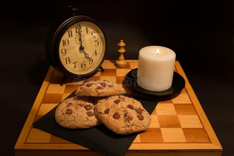 chip white för koppen för chokladkaffekakor hemlagad isolerad royaltyfri foto
