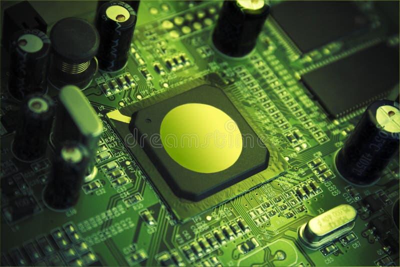 chip zaawansowanej technologii fotografia stock