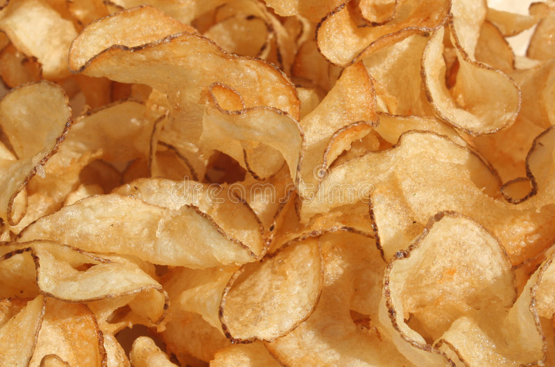 chip ziemniaka obraz royalty free