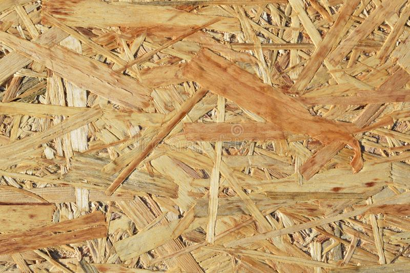 Chipboard for construction. Abstract wooden background.Chipboard for construction royalty free stock photo