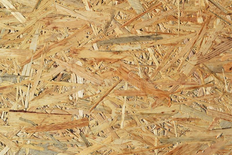 Chipboard for construction. Abstract wooden background.Chipboard for construction stock photo