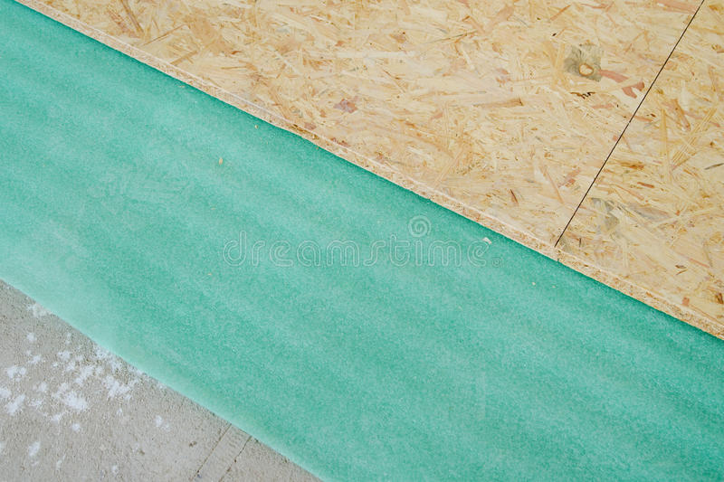 Download Chipboard Floor Installation Stock Images - Image: 26297094