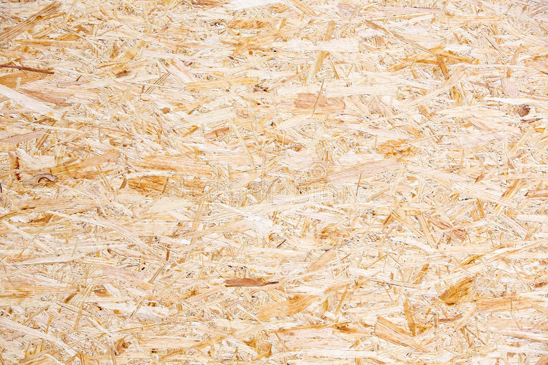 Chipboard texture. Chipboard OSB (Oriented strand board) texture stock photography