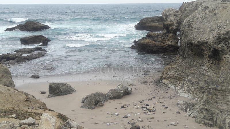 Chipipe海滩-厄瓜多尔 免版税库存图片