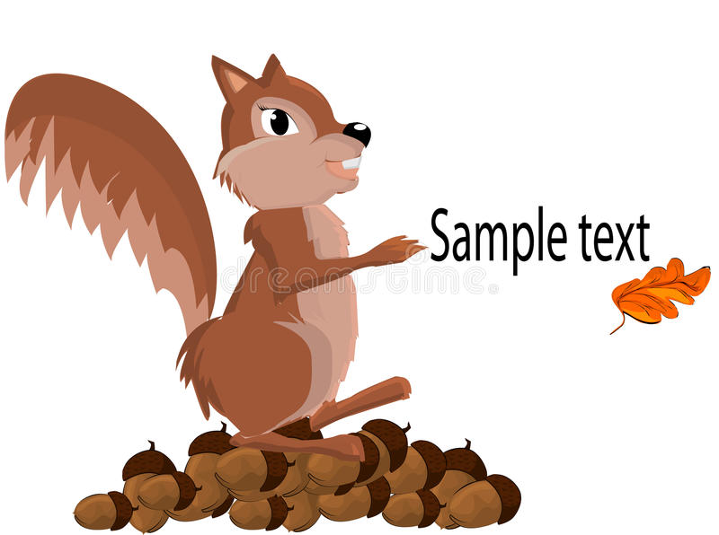 Download Chipmunk stock vector. Illustration of fluffy, animals - 17219407