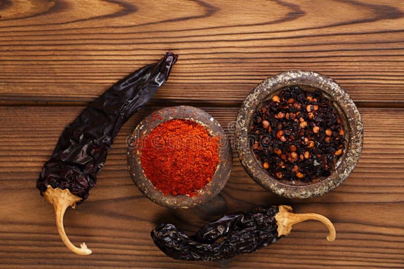 Chipotle - piment fumé de jalapeno image stock