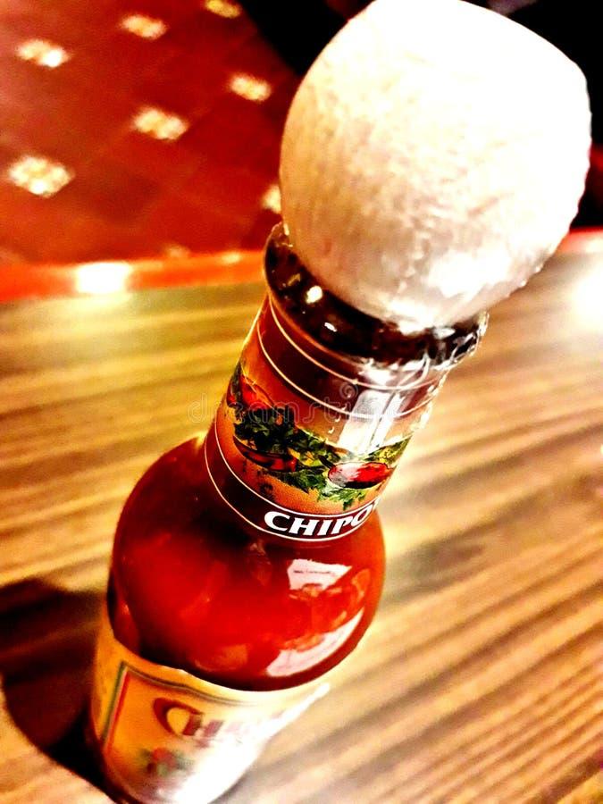 Chipotle Souce/salsa fotografia de stock