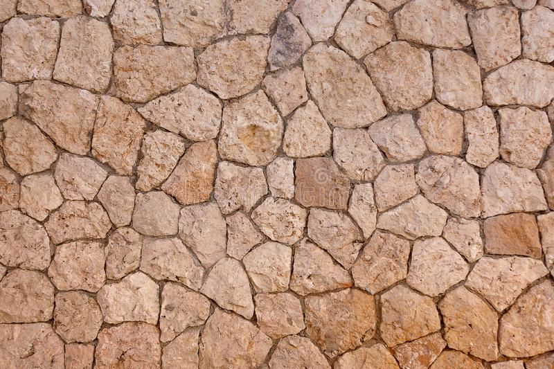 Chipped Stone Wall Background royalty free stock photo