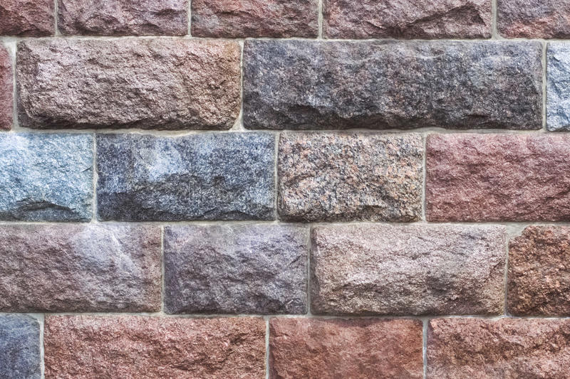 Chipped stone wall background stock image