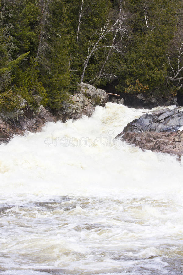Chippewa Falls. Chippewa Fall in Ontario Canada royalty free stock photography