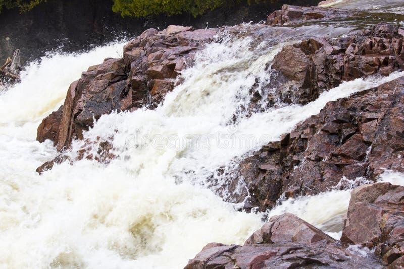 Chippewa Falls. Chippewa Fall in Ontario Canada stock image