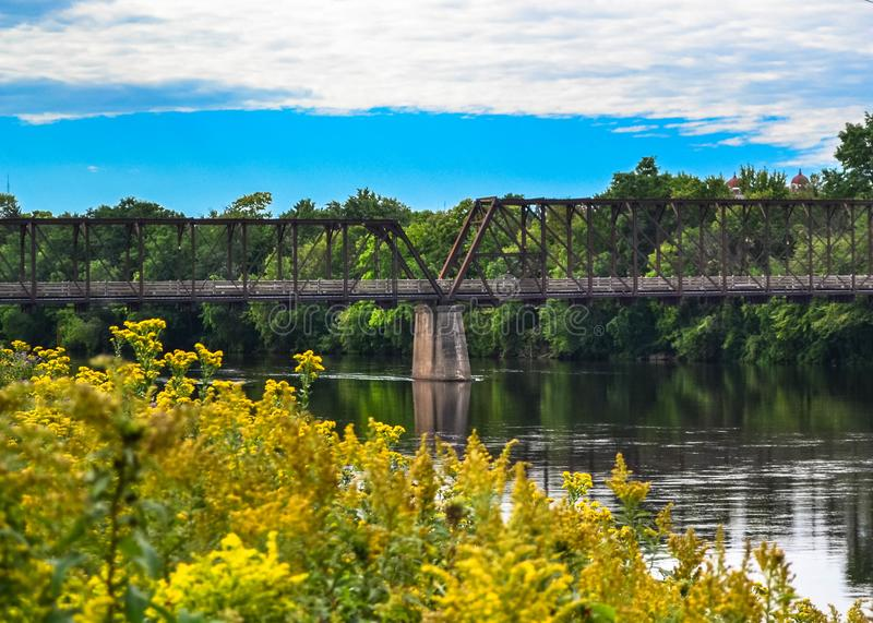 On Chippewa River stock photography