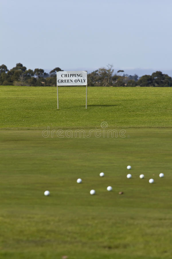 Download Chipping green only stock photo. Image of balls, golf - 26031800
