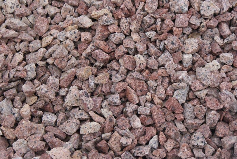 Chippings de la piedra decorativa foto de archivo libre de regalías