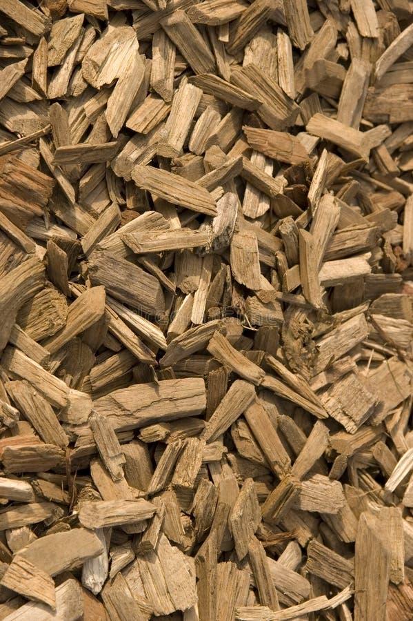 Chippings de madeira fotos de stock royalty free